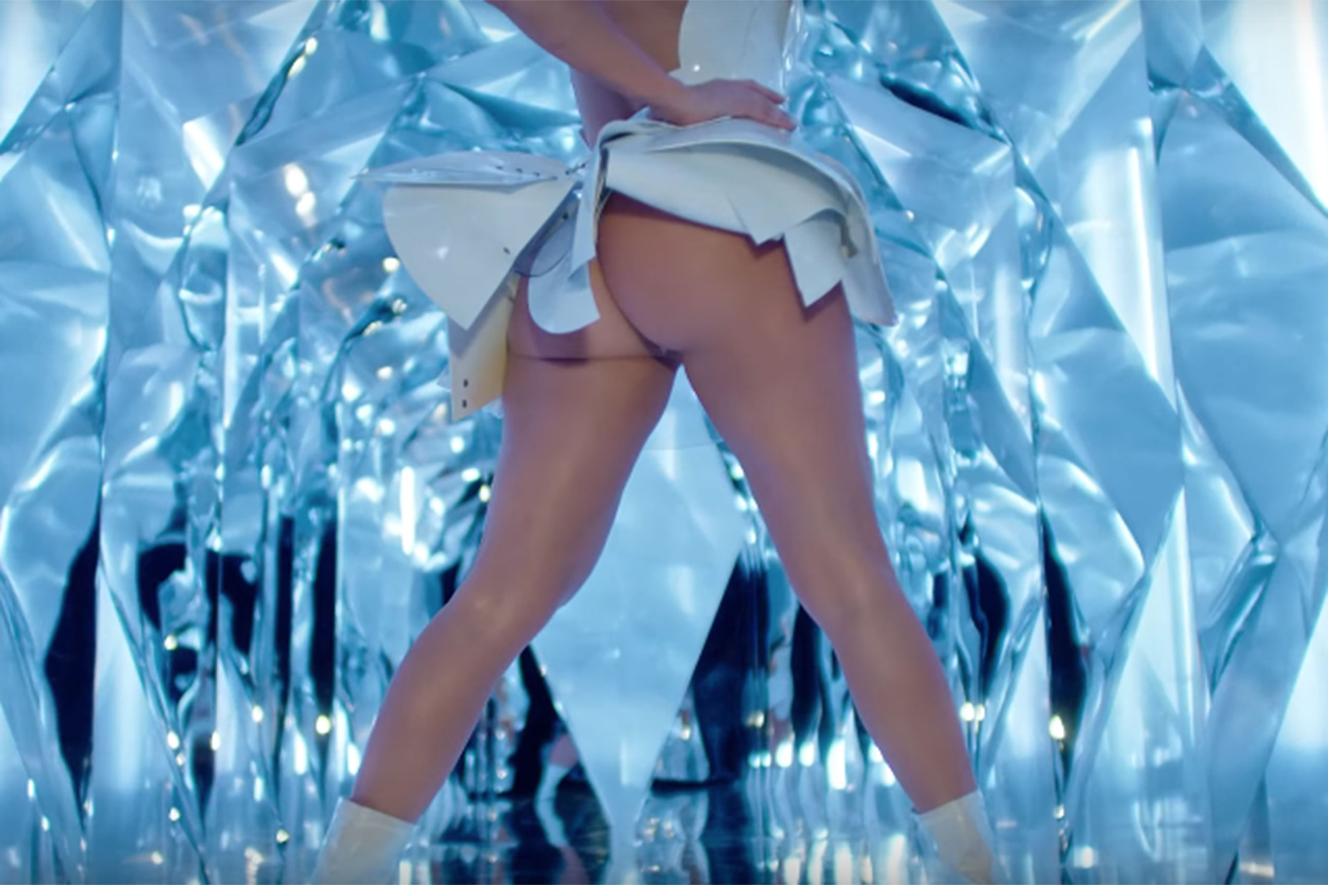 JLo Bares Her Booty in Her Music Video for 'Medicine'