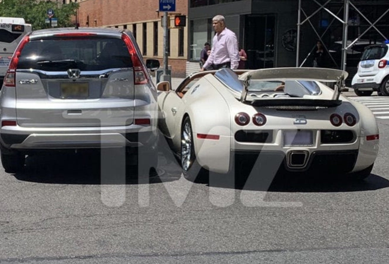 Tracy Morgan's Bugatti Involved in Crash 15 Mins After Purchase