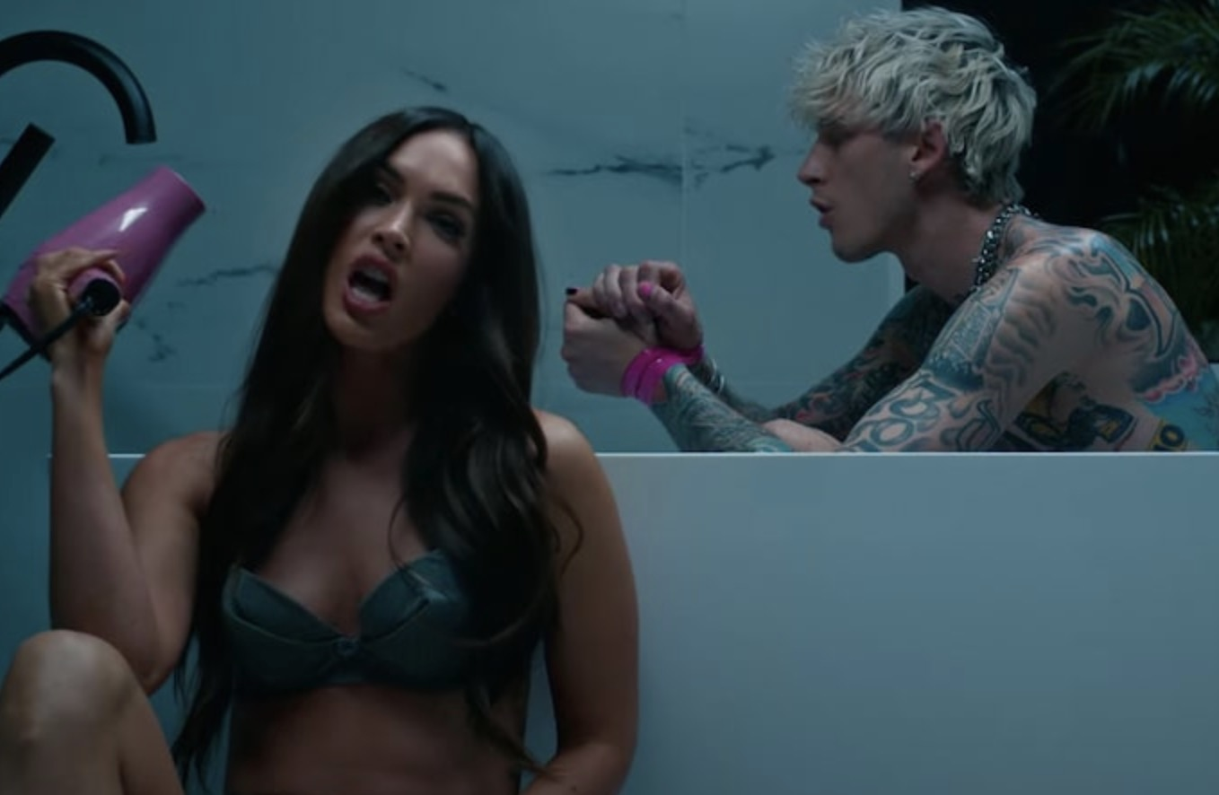 Post-Split Megan Fox Stars In MGK's New Video